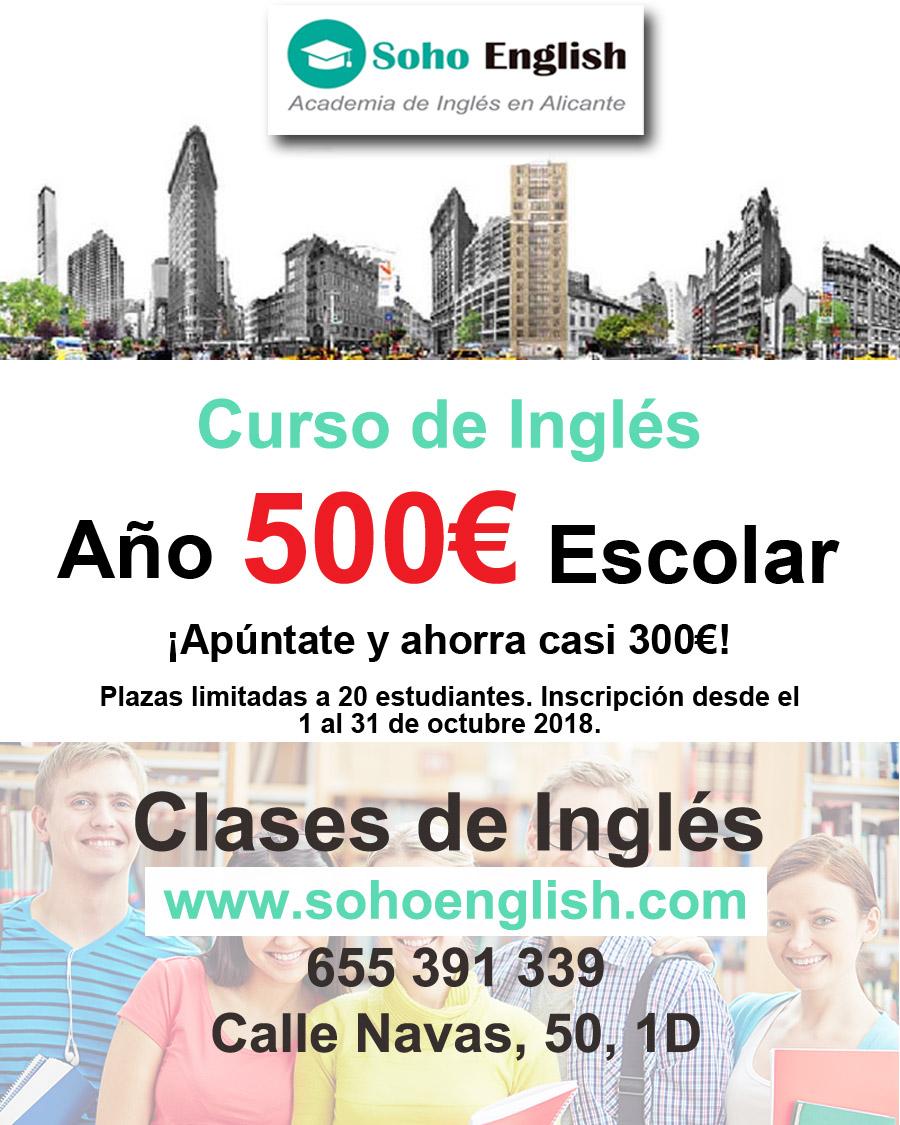 500€ Curso de Inglés Año Escolar – ¡Vaya Oferta!