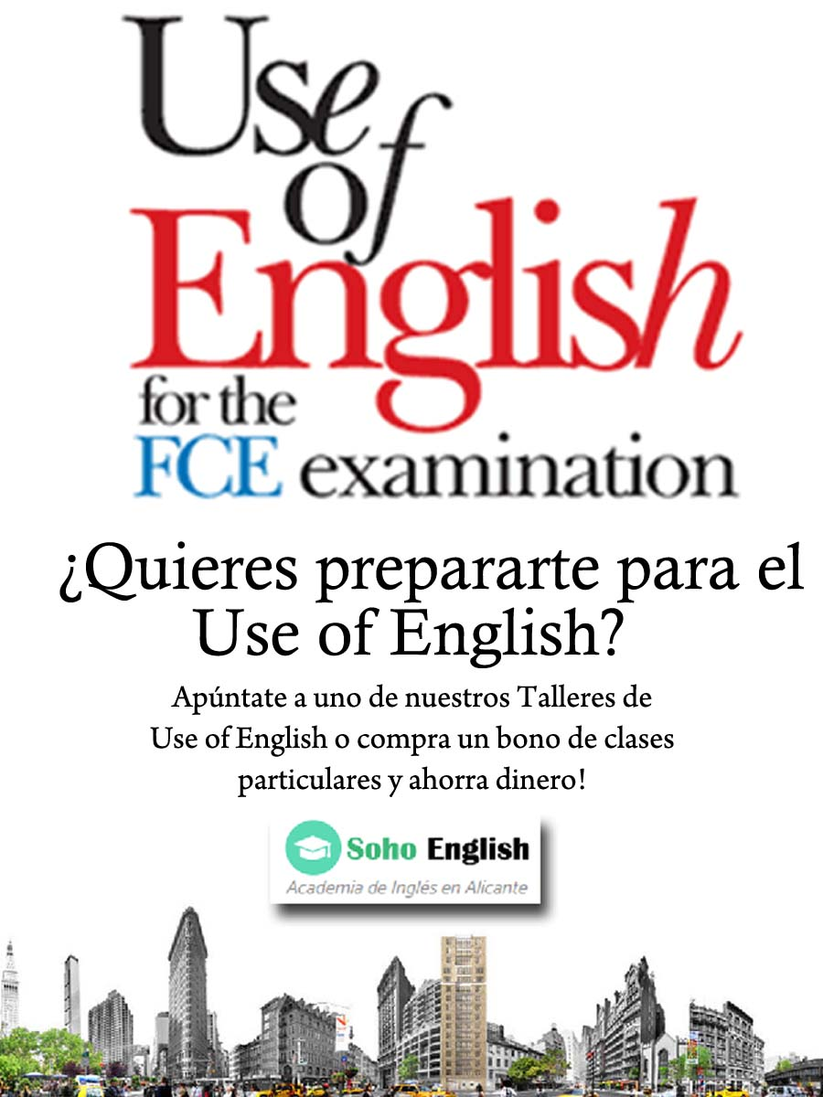 Clases de Inglés y Talleres para Use of English