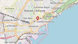 Academia de Inglés Soho Alicante mapa